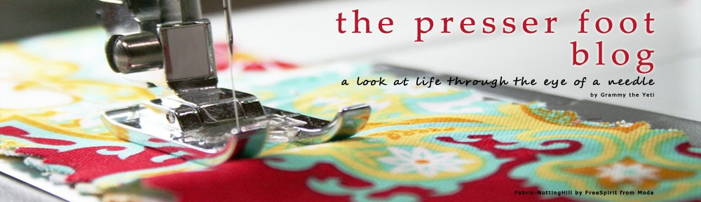 The Presser Foot