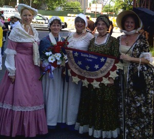 Fellow Daughters of the American Revolution waiting for the event to begin.